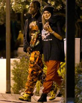 Travis and Kylie in Miami